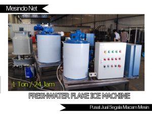 Mesin Freshwater Flake ice 1 ton per hari
