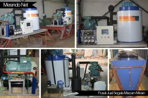 Mesin flake es air tawar 5 ton sehari