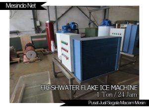 Mesin Flake Es untuk air tawar