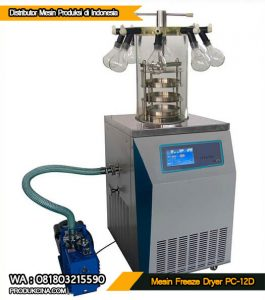 Alat Pengering Vakum untuk farmasi laboratorium PC-12D