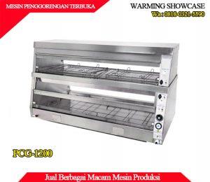 Beli mesin Showcase penghangat makanan stainless steel berkualitas PCG-1200