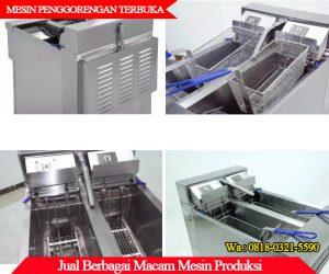 Detail lengkap mesin penggorengan