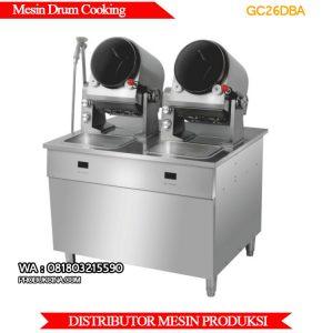 Jual mesin cooking drum bisa memasak otomatis cocok untuk restoran dan hotel PC26DBA