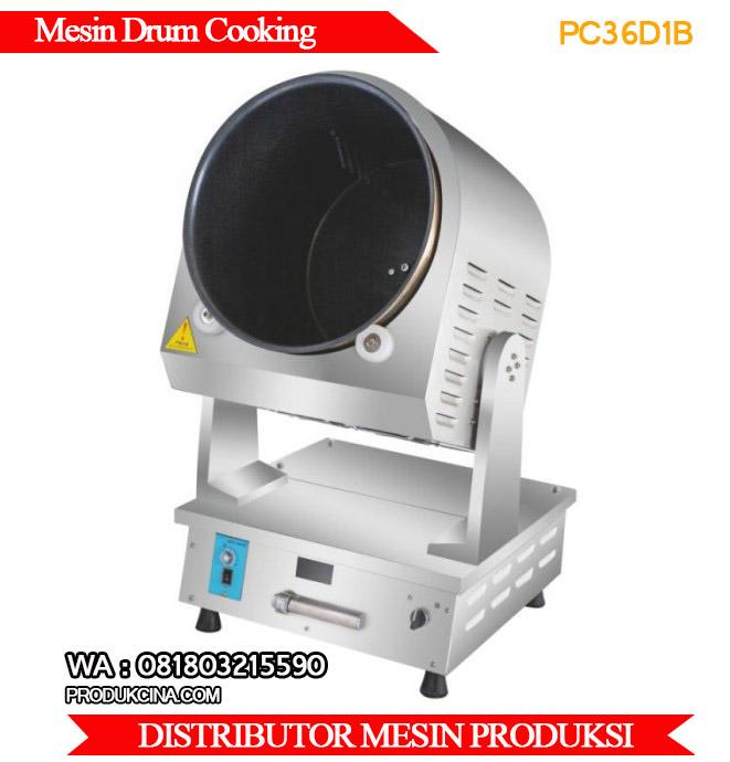 Jual mesin drum cooker mesin memasak murah