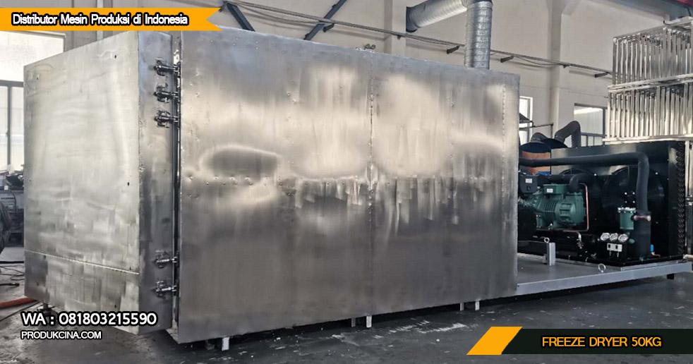 Jual mesin freeze dryer untuk buah buahan 50 kg
