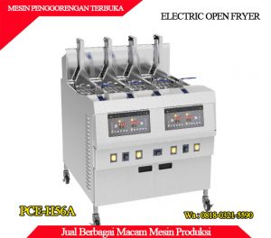 Jual mesin penggorengan terbuka berkualitas di surabaya dan jakarta