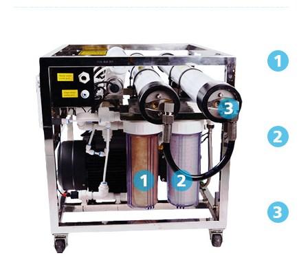 Mesin desalinator air laut murah