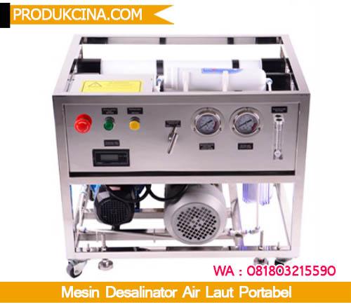 Mesin desalinator murah dengan automatis bekerja