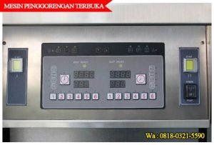 Panel led mesin deep fryer