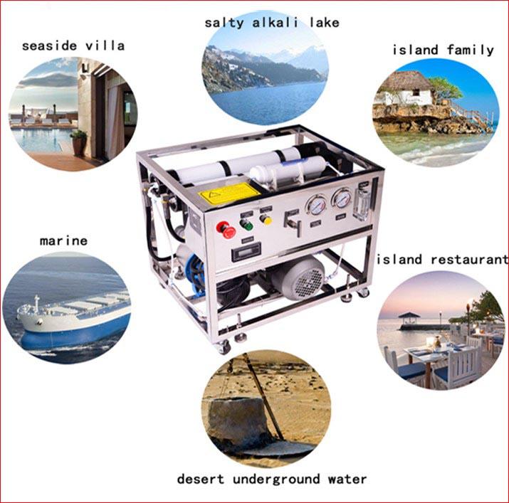 Penggunaan Mesin desalinasi air laut