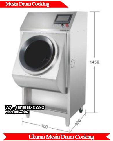 Ukuran mesin drum cooking berkualitas 2