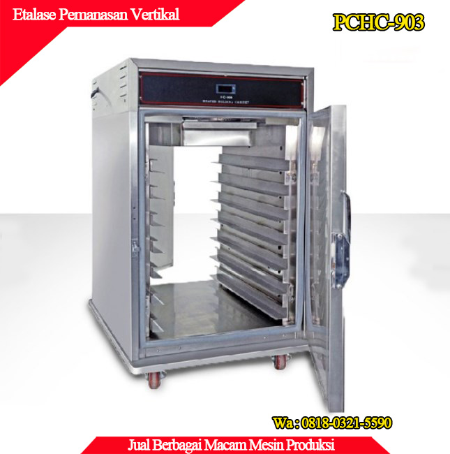 Beli mesin pemanas model vertical etalase harga lebih bersahabat
