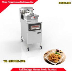 Distributor mesin penggorengan tanpa minyak dengan pemanas gas