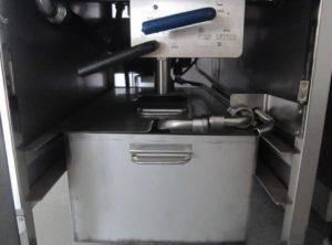 Filtration system mesin penggorengan terbuka