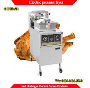 Jual Pressure Fryer dengan pemanas listrik GCPFE-500