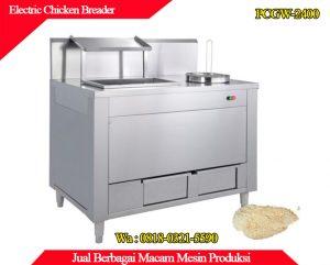 Jual mesin electric chicken breader murah dan berkualitas