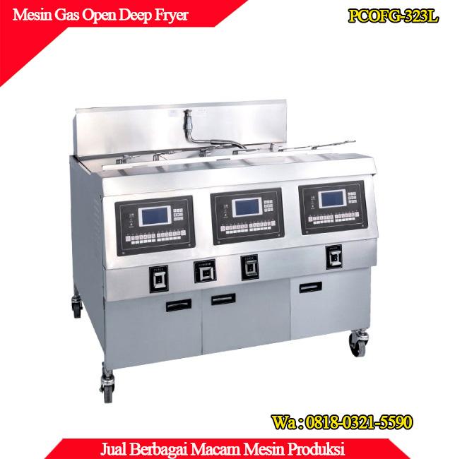 Jual mesin gas open deep fryer berkualitas tinggi di surabaya