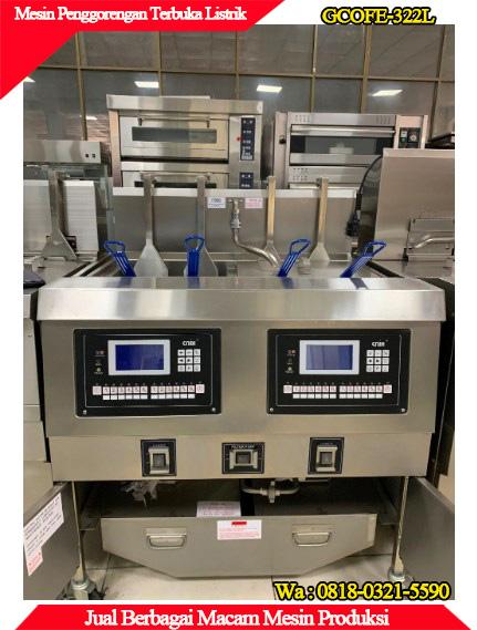 Mesin murah berkualitas penggorengan terbuka