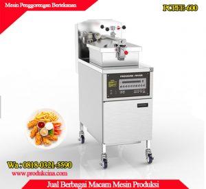 Mesin penggorengan deep preassure fryer
