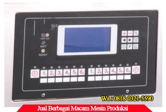 Panel kontrol mesin deep fryer gas