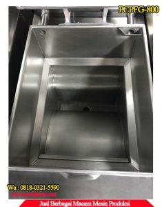 Penampilan dalam mesin penggorengan tanpa minyak