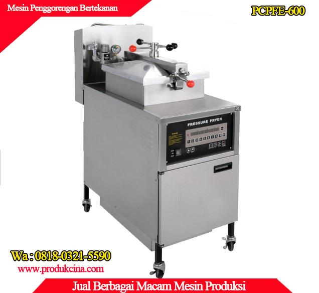 Supplier mesin penggorengan bertekanan murah dan berkualitas tinggi