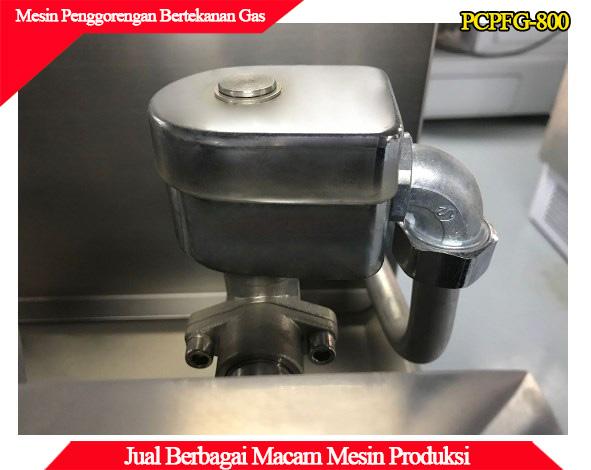 Tampilan mesin deep preassure gas