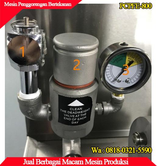 Tampilan spedometer tekanan