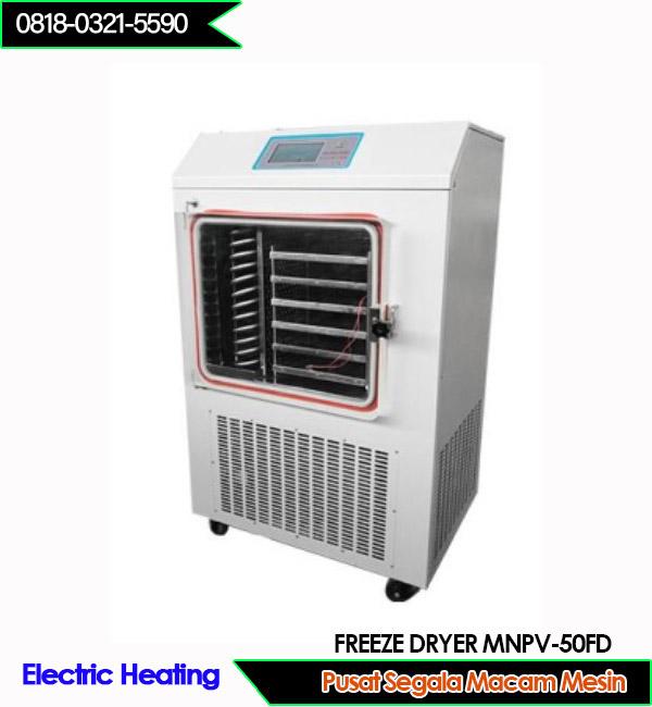 Beli Mesin freeze Drying dengan kapasitas 10kg per 24 jam pemanas listrik