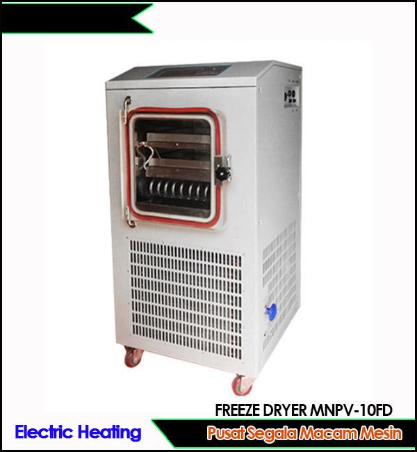 Jual Mesin freeze dryer berkualitas MNPV-10FD pemanas listrik